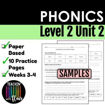 Foundations Level 2 Unit 2