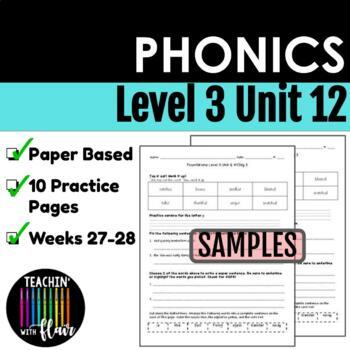 Foundations Level 3 Unit 12