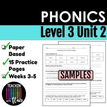 Foundations Level 3 Unit 2