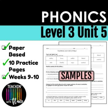 Foundations Level 3 Unit 5