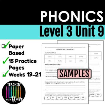 Foundations Level 3 Unit 9