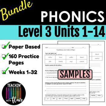Foundations Level 3 Units 1-14