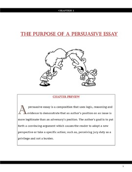 Foundations Of Writing  Persuasive Essays