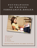 Foundations Of Writing  Persuasive Essays