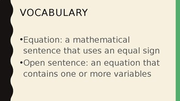 Foundations for Algebra - An Introduction to Functions