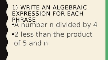 Foundations for Algebra Complete Chapter