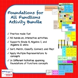 Foundations for All Functions Activity Bundle