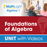 Foundations of Algebra Review | Algebra 1 Review Unit with Videos