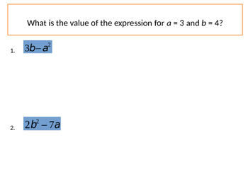 Foundations of Algebra - Order of Operations