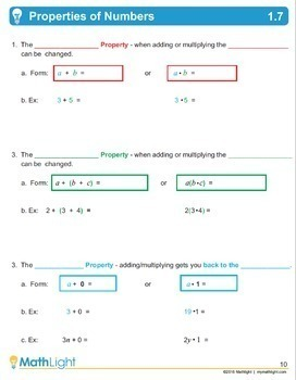 Foundations of Algebra | Unit with Videos | Good for Distance Learning