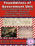 Foundations of American Government {Digital & PDF Included}