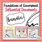 Foundations of American Government: Influential Documents BUNDLE!