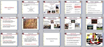 Foundations of American Government PowerPoint Unit for Virginia Civics