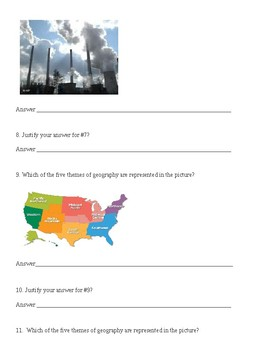 Foundations of Geography Study Guide