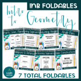 Foundations of Geometry Notes Foldable Bundle