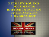 British Primary Source Documents Impact on US Independence