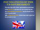 Foundations of Government - Primary Source Documents: Brit