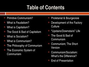 Communism & Socialism