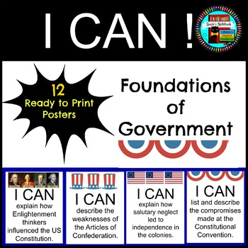 Foundations of Government I CAN