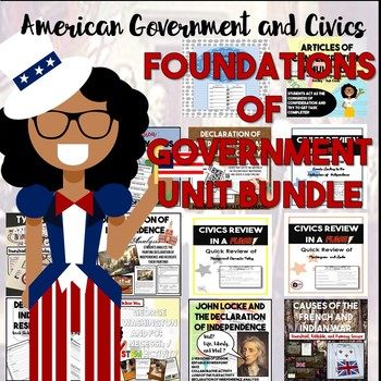Foundations of Government : Law Codes to Declaration of Independence Bundle