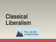 Foundations of Government - Liberalism, Socialism & Marxism