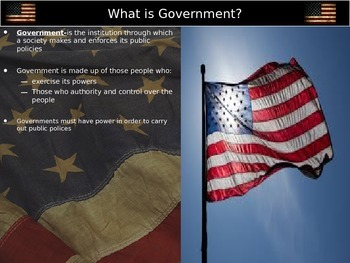 Foundations of Government Session 1: Introduction to Government