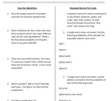 Foundations of Probability Class Activities