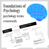 Foundations of Psychology Crosswords Practice