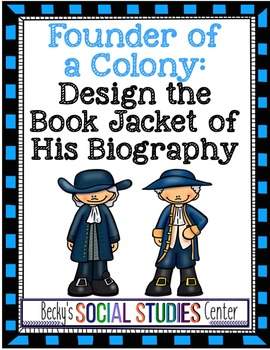 Founder of a British Colony: Design the Book Jacket of His
