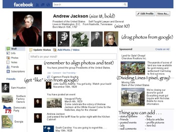 Founders Facebook/Terrible Twitter Project