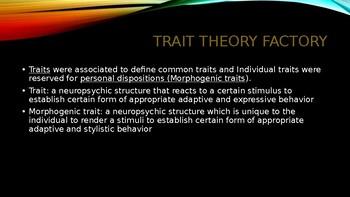 Founders of Psychology: Gordon Allport