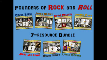 Founders of Rock & Roll Bundle Elvis-Cash-Brown-Holly-Berr