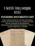 Founding Documents Bundle: Common Core & Research Based Unit
