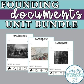 Founding Documents Introductory Unit Bundle for US History