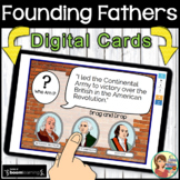 Founding Fathers Boom Cards Distance Learning