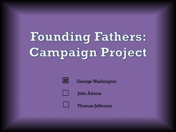 Founding Fathers Campaign Project