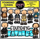 Founding Fathers Clip Art Bundle {Educlips Clipart}