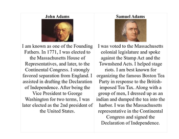 Founding Fathers Gallery Walk and Scoot