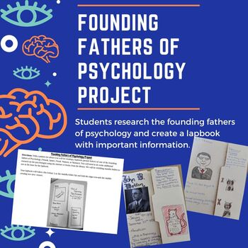 Founding Fathers of Psychology Lapbook