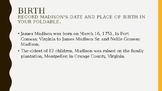 Founding Foldable James Madison