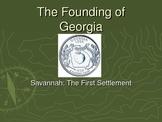 Founding of Georgia PPT - Oglethorpe, Musgrove, and Tomochichi