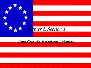 Founding the American Colonies PowerPoint