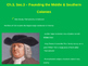 Founding the Middle & Southern Colonies