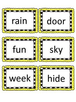 Fountas & Pinnell  100 High Frequency Sight Word Flashcards/Word Wall  Frames