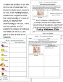 Fountas & Pinnell Classroom Interactive Read Aloud Respond To Text - Text Set 1