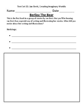 Fountas & Pinnell Classroom Interactive Read Aloud Respond To Text - Text Set 11