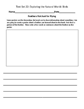 Fountas & Pinnell Classroom Interactive Read Aloud Respond To Text - Text Set 22