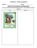 Fountas & Pinnell Classroom Interactive Read Aloud Respond To Text - Text Set 4