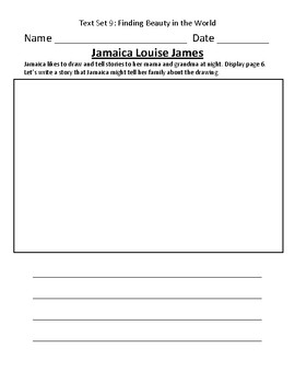 Fountas & Pinnell Classroom Interactive Read Aloud Respond To Text - Text Set 9