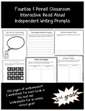 Fountas and Pinnell; Interactive Read Aloud Worksheets (2nd grade)